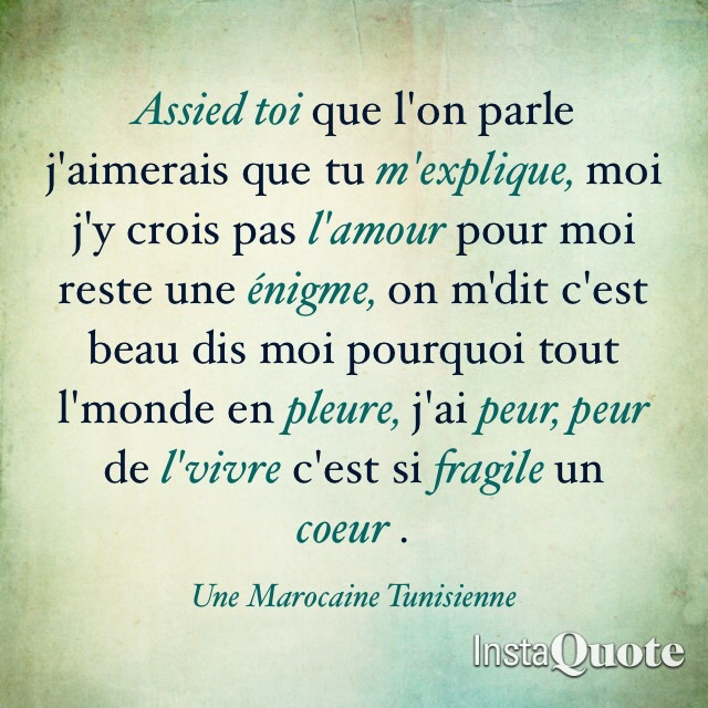 Image About Amour In Textes Phrases Punch Rappel By Shipa