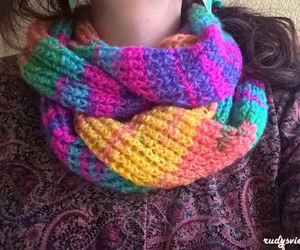colours, diy, and knitting image