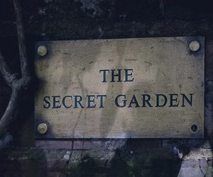 garden, secret, and secret garden image