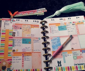 organization, planner, and back to school image