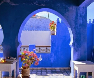 morocco, blue, and moroccan image