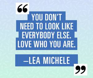 lea michele, motto, and phrases image