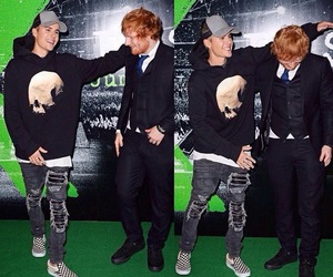 justin bieber, ed sheeran, and ed image