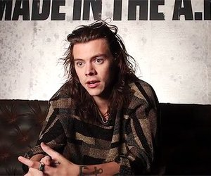 harrystyles, onedirection, and madeintheam image