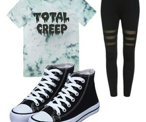 moda, Polyvore, and outfits image