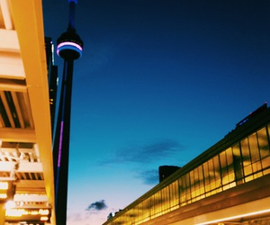 CN tower, toronto, and travel image