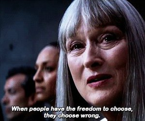 movie, the giver, and meryl streep image