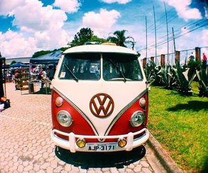 cars and hippie image