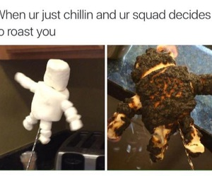 squad, funny, and roast image