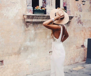 fashion, summer, and hat image