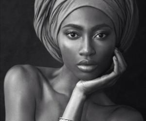 black woman, african american woman, and chanel image