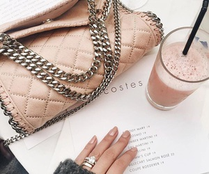 pink, bag, and nails image