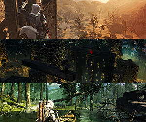 scenery, assassin's creed, and desmond miles image