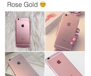 iphone and rose gold image