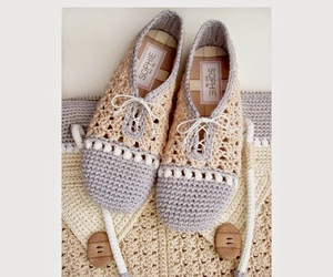 crochet, shoes, and WANT! image