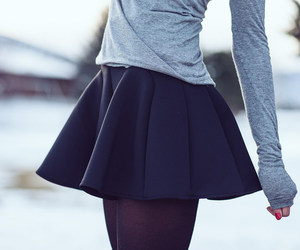 fashion, sleeve, and tights image