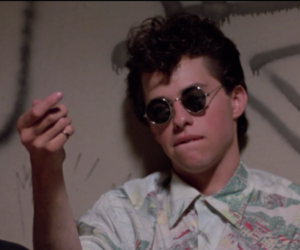 pretty in pink, boy, and 80s image