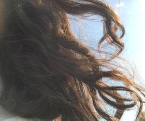 cloud, hair, and indie image