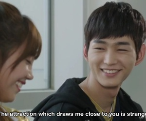 kim yeol, love is in the air, and lee won geun image