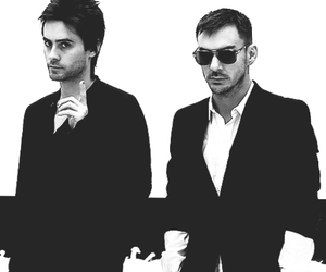jared leto, shannon leto, and thirty seconds to mars image