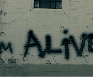 alive, song, and graffiti image