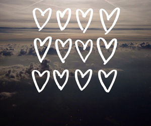 wallpaper, love, and hearts image
