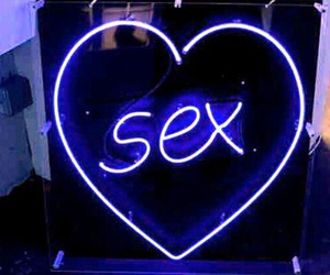 neon, sex, and glow image