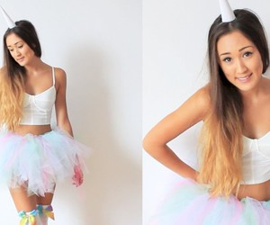 unicorns, laurdiy, and diy halloween costumes image