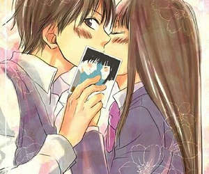 kiss, kimi ni todoke, and anime image