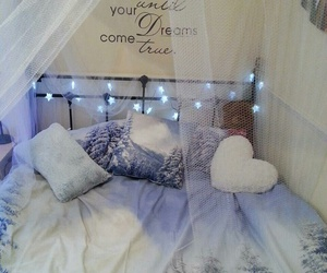 bedroom, bed, and Dream image