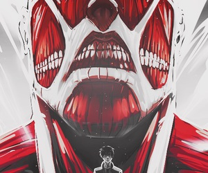 attack on titan, titan, and anime image