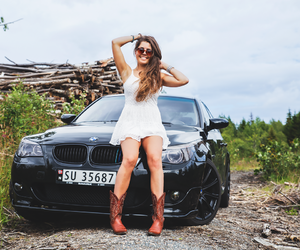 bmw, car, and Cowgirl image