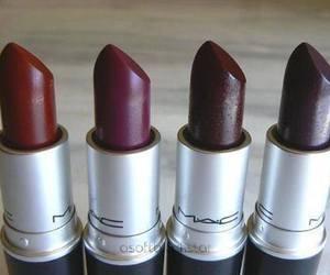 mac, lipstick, and autumn image