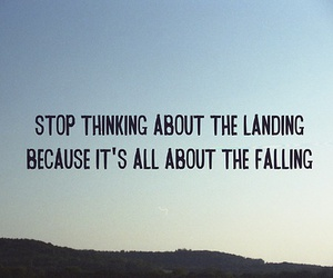 falling, love, and landing image