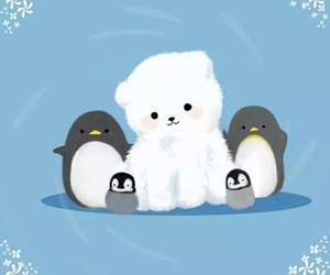 bear and penguin image