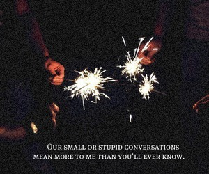 text, quote, and conversation image