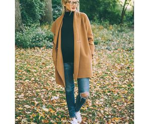 autumn, clothes, and coat image
