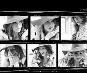 black and white, Taylor Swift, and model image