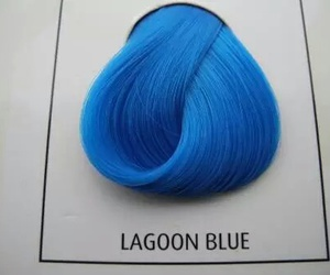 blue, hair, and lagoon blue image