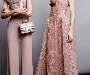 elie saab, fashion, and pink image