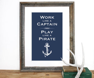 pirate, anchor, and art image