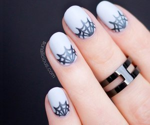 Halloween and nails art image
