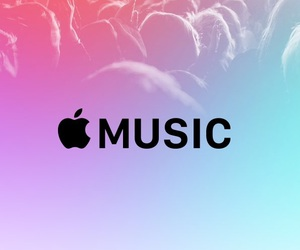 music, apple, and iphone image