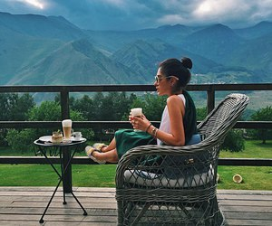 mountains and relax image