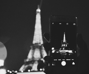 beautiful, camera, and eiffel tower image