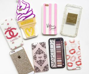 chanel, girly, and phone cases image