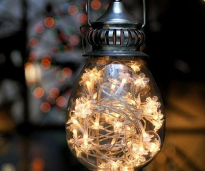 light, christmas, and lantern image
