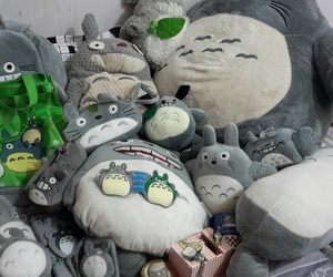 collection, doll, and totoro image