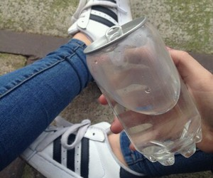 water, adidas, and tumblr image