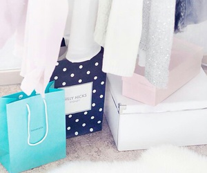 bags, box, and clothes image